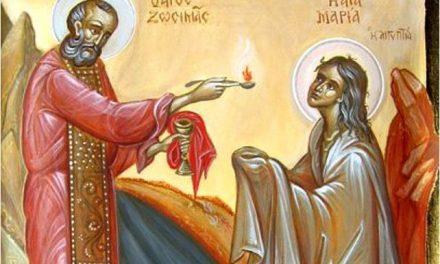 Predica Părintelui Spiridon Roșu la Duminica Sfintei Maria Egipteanca – 14 aprilie 2019