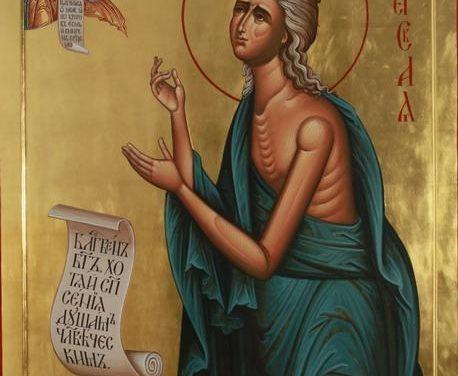Predica Părintelui Ieronim la Duminica a 5-a din Postul Paștelui – a Sfintei Maria Egipteanca – 14 aprilie 2019
