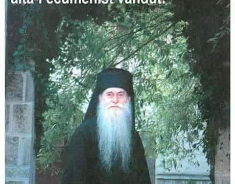 """""""Nu există târg în materie de Adevăr!"""" – Pr. Arhimandrit Arsenie Papacioc"""