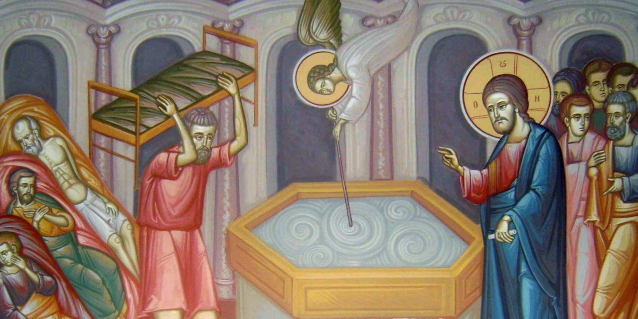 Predica Părintelui Ghedeon la Duminica Slăbănogului – 19 mai 2019