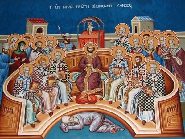 Sfântul Iustin Popovici – predică la Duminica Sfinţilor Părinţi de la Sinodul I Ecumenic  martorii Vieţii veşnice