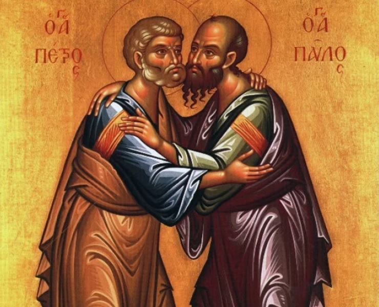 Predica Părintelui Ieronim la Praznicul Sfinților Apostoli Petru și Pavel – 29 iunie 2019