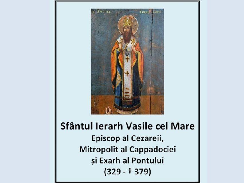 Sfântul Vasilie cel Mare în anul 361 a rupt comuniunea cu episcopul Dianios al Cesareei