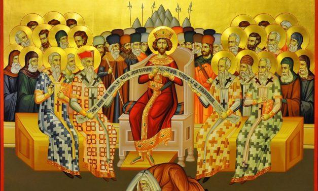 Predica Părintelui Ieronim din Duminica Sfinților Părinți de la Sinodul I Ecumenic – 9 iunie 2019