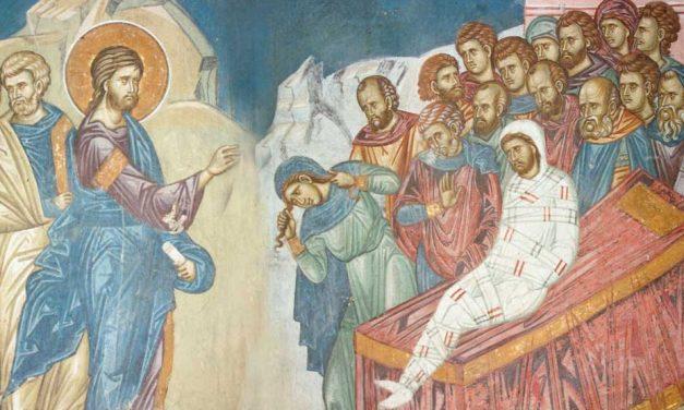 Învierea fiului văduvei din Nain – Predica Părintelui Ieronim – 6 octombrie 2019
