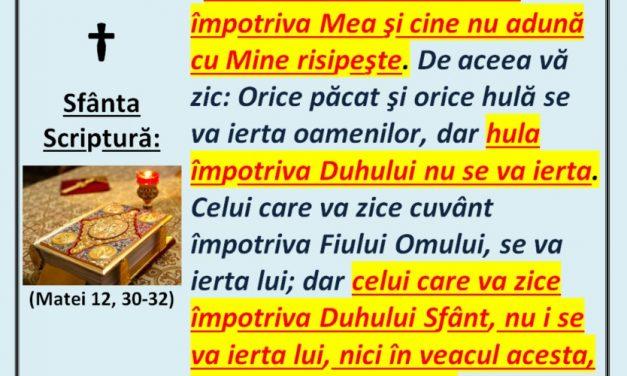 Înregistrarea conferinței lui GHERON SAVA LAVRIOTUL – Înfruntarea duhovnicească a ereziilor apărute în istoria Bisericii, conform învățăturii Sfinților Părinți – București, 27 octombrie 2019