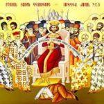 Predica Părintelui Spiridon Roșu la Duminica Sf. Părinți de la Sinodul al VII lea Ecumenic – 13 octombrie 2019
