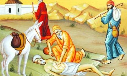 Predica Părintelui Spiridon la Duminica a XXV-a după Rusalii – Pilda samarineanului milostiv. Milostenia adevărată înseamnă îndeplinirea tuturor poruncilor. 10 noiembrie 2019