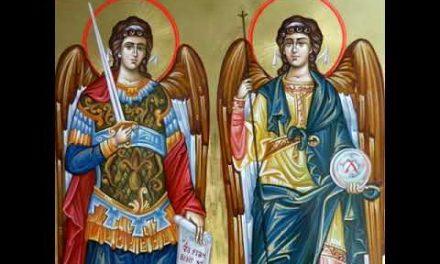 Predica Părintelui Xenofont la praznicul Sfinților Arhangheli Mihail și Gavriil – 8 noiembrie 2019
