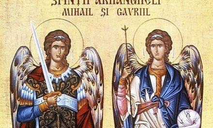 Predica Pr. Ciprian Ioan Staicu la praznicul Sfinților Arhangheli (dar cu referire și la cel prăznuit mâine – Sfântul Ierarh Nectarie)