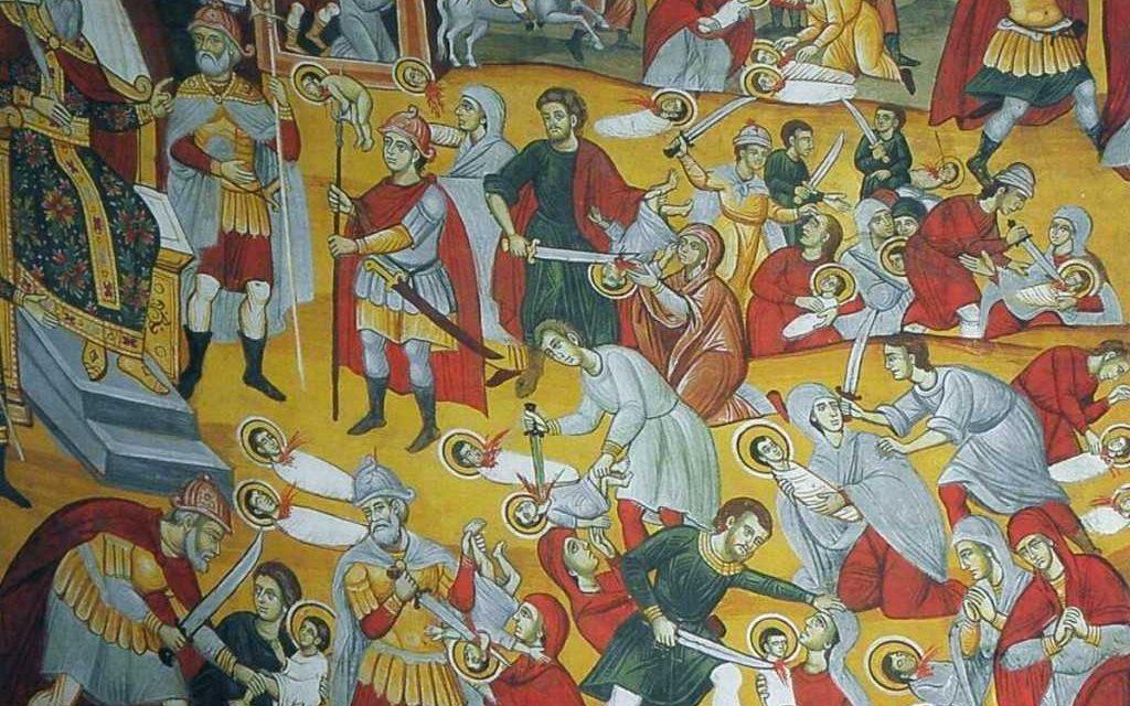 Predica Părintelui Ieronim la Duminica Sfinților 14000 de prunci uciși din porunca lui Irod – 29 decembrie 2019