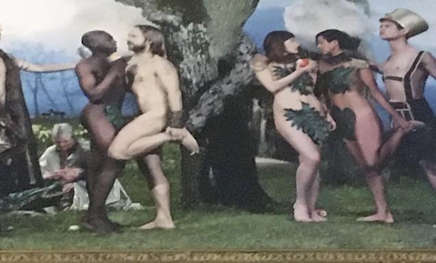 """""""Biserica"""" din Suedia trece la Next Level. Promovează altarul cu un Rai în care apar cupluri gay și un șarpe transsexual"""
