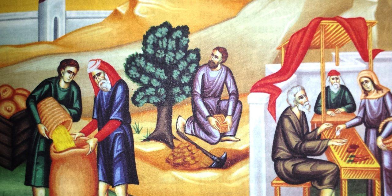 Predica Părintelui Ieronim – Pilda talanților – 1 decembrie 2019