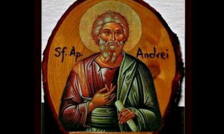 """Sfântul Apostol Andrei – Sfântul Ierarh Andrei Șaguna – iar azi ne-a mai rămas … """"patriarhul sfinților!"""""""