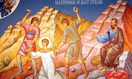 Predica Părintelui Ieronim la Sărbătoarea Sfântului Arhidiacon Ștefan – 27 decembrie 2019