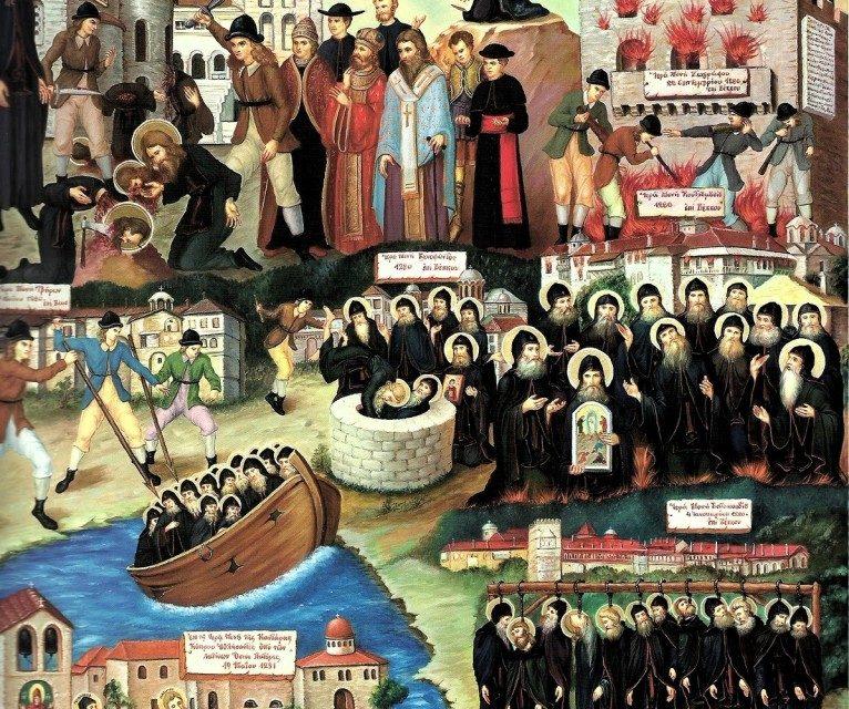 Prigonirea monahilor din Muntele Athos de către Patriarhia de Constantinopol