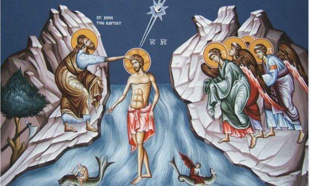 Predica Pr. Dr. Ciprian Staicu la Înainteprăznuirea și la sărbătoarea Arătării Domnului (Boboteaza)
