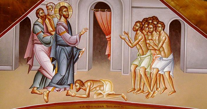 Predica Părintelui Ieronim la Duminica celor zece leproși – 19 ianuarie 2020