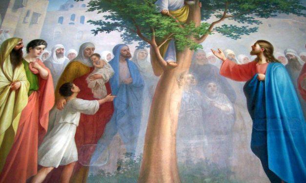 Predica Părintelui Andrei la Duminica lui Zaheu – 26 ianuarie 2020