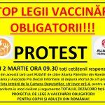 Model de scrisoare către parlamentari pentru STOPAREA IMEDIATĂ a proiectului de lege a vaccinării obligatorii
