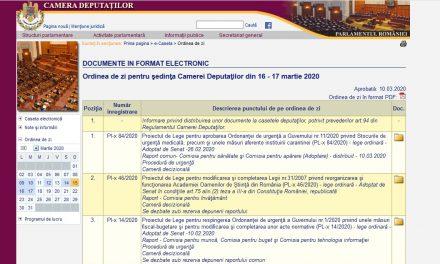 Luni 16 martie, Proiectul de Lege privind vaccinarea persoanelor în România (PL-x nr. 399/2017) este oficial pe ordinea de zi a Camerei Deputaților – spre votare, spre adoptare