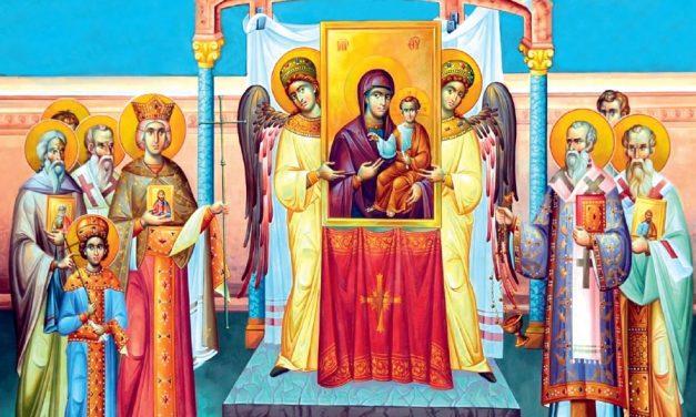 Predica Părintelui Lavrentie la Duminica Ortodoxiei – 8 martie 2020
