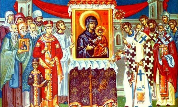 Predica Pr. Dr. Ciprian Ioan Staicu la Duminica I din Post (a Ortodoxiei) – 08.03.2020