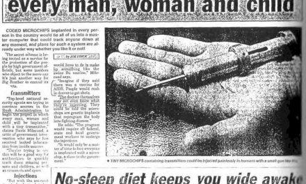 Implantarea de microcipuri prin vaccinarea împotriva gripei plănuită încă de acum 31 de ani