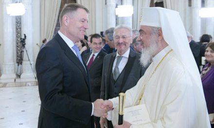 Președintele României, patriarhul României și premiile… Kalergi