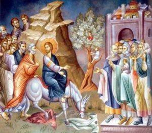 Predica Părintelui Ciprian Ioan Staicu la Duminica Floriilor – 12 aprilie 2020