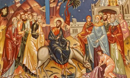 Predica Părintelui Ieronim la Duminica Floriilor – 12 aprilie 2020