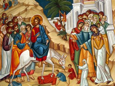 Predica Părintelui Lavrentie la Duminica Floriilor – 12 aprilie 2020