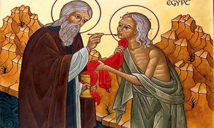 Predica Părintelui Ieronim la Duminica a 5-a din Post (a Cuv. Maria Egipteanca; Cererea fiilor lui Zevedeu) –  5 aprilie 2020