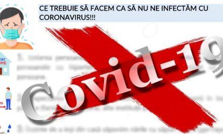Recomandările medicilor creștini ortodocşi pentru prevenirea şi ameliorarea cazurilor de infectare cu COVID-19