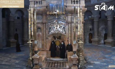 Biserica Sfântului Mormânt – transmisiune video în direct