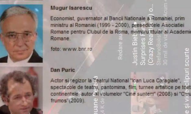 Informare Q-anon România despre legătura dintre Ion Iliescu și Călin Georgescu (23.04.2020)