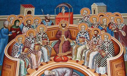 Predica Părintelui Ieronim la Duminica Sfinților Părinți de la Sinodul I Ecumenic – 31 mai 2020