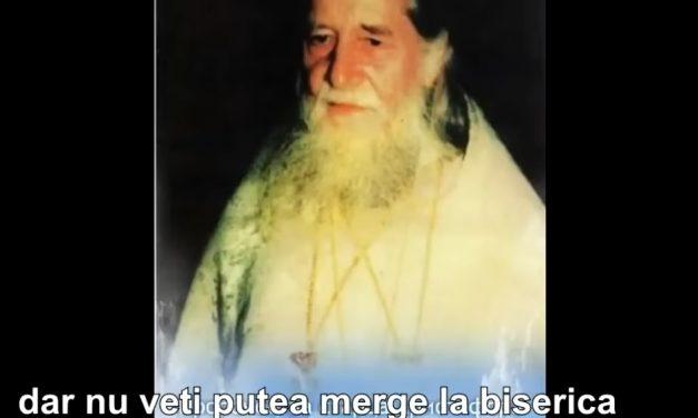 """PROOROCIILE SCHIARHIMANDRITULUI HRISTOFOR (1905 – †1996) – """"…nu veți putea merge la biserică fiindcă nu va mai fi credința ortodoxă. Și nici împărtășanie nu va mai fi.""""; """"La uși este deja antihristul!"""""""