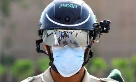 Lumea după coronavirus: Poliţiştii cu căşti de supraveghere ne vor identifica şi ne vor lua temperatura din mers – VIDEO