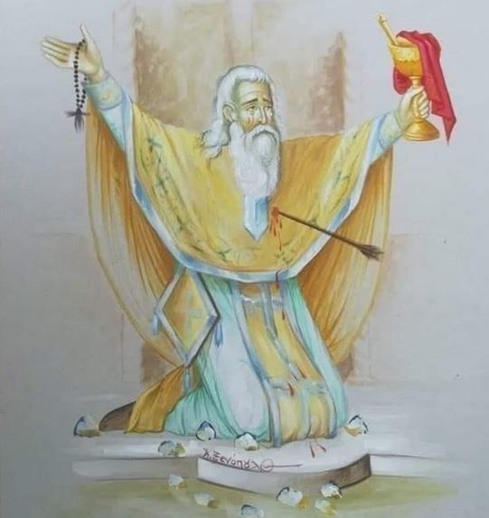Preotul…