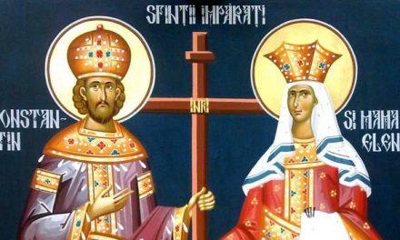 Predica Părintelui Ciprian Ioan Staicu la Praznicul Sfinților Împărați Constantin și mama sa Elena – 21 mai 2020