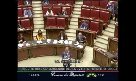 Deputata Sara Cunial – alocuțiune în Parlamentul ITALIAN:  ADEVĂRUL INTERZIS la televizor