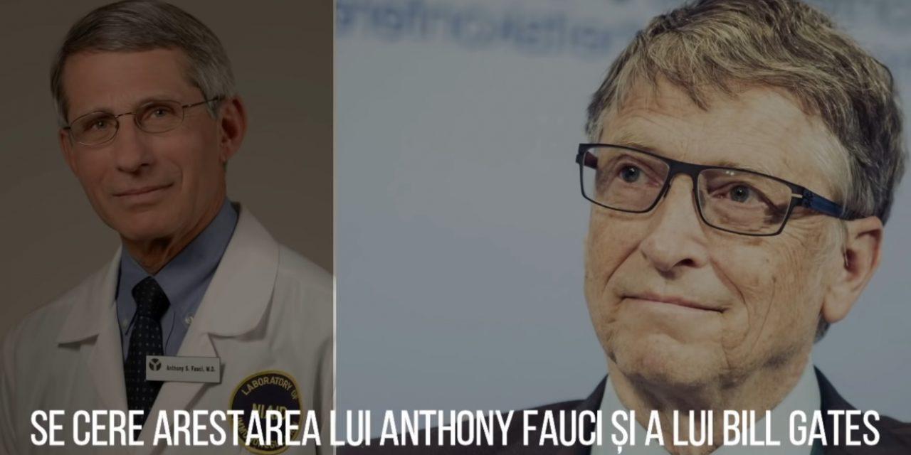 Se cere arestarea lui Anthony Fauci și a lui Bill Gates. Lațul se strânge…