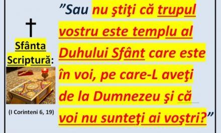 Iubiți frați români, TREZIȚI-VĂ și refuzați să fiți vaccinați cu forța, nedând Cezarului cele ce sunt ale lui Dumnezeu!