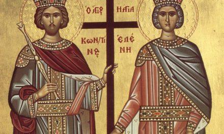 Predica Părintelui Ieronim la Praznicul Sfinților Împărați Constantin și mama sa Elena – 21 mai 2020