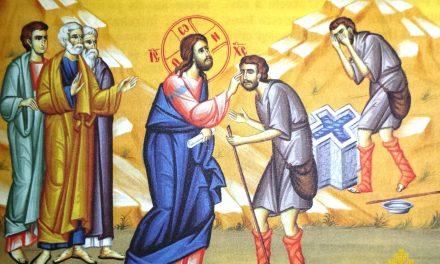 Predica Părintelui Ciprian Ioan Staicu la Duminica Vindecării orbului din naștere – 24 mai 2020