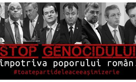 STOP GENOCIDULUI împotriva poporului român!