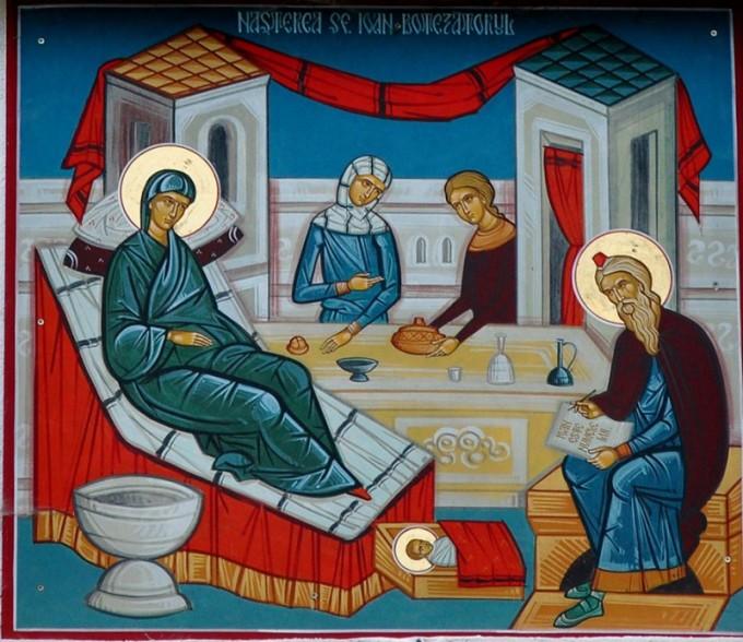 Predica Părintelui Ciprian Ioan Staicu la nașterea Sfântului Ioan Botezătorul – 24 iunie 2020