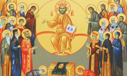 Predica Părintelui Ciprian Ioan Staicu la Duminica tuturor Sfinților – 14 iunie 2020