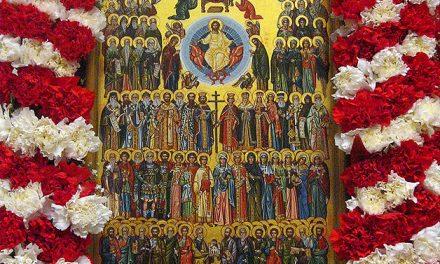Predica Părintelui Ieronim la Duminica tuturor Sfinților – 14 iunie 2020